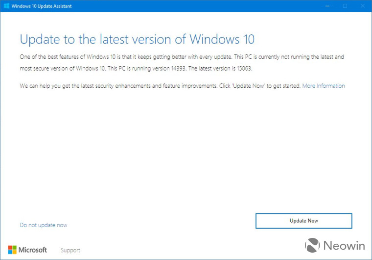 Windows 10 Creators Update is now available to install using