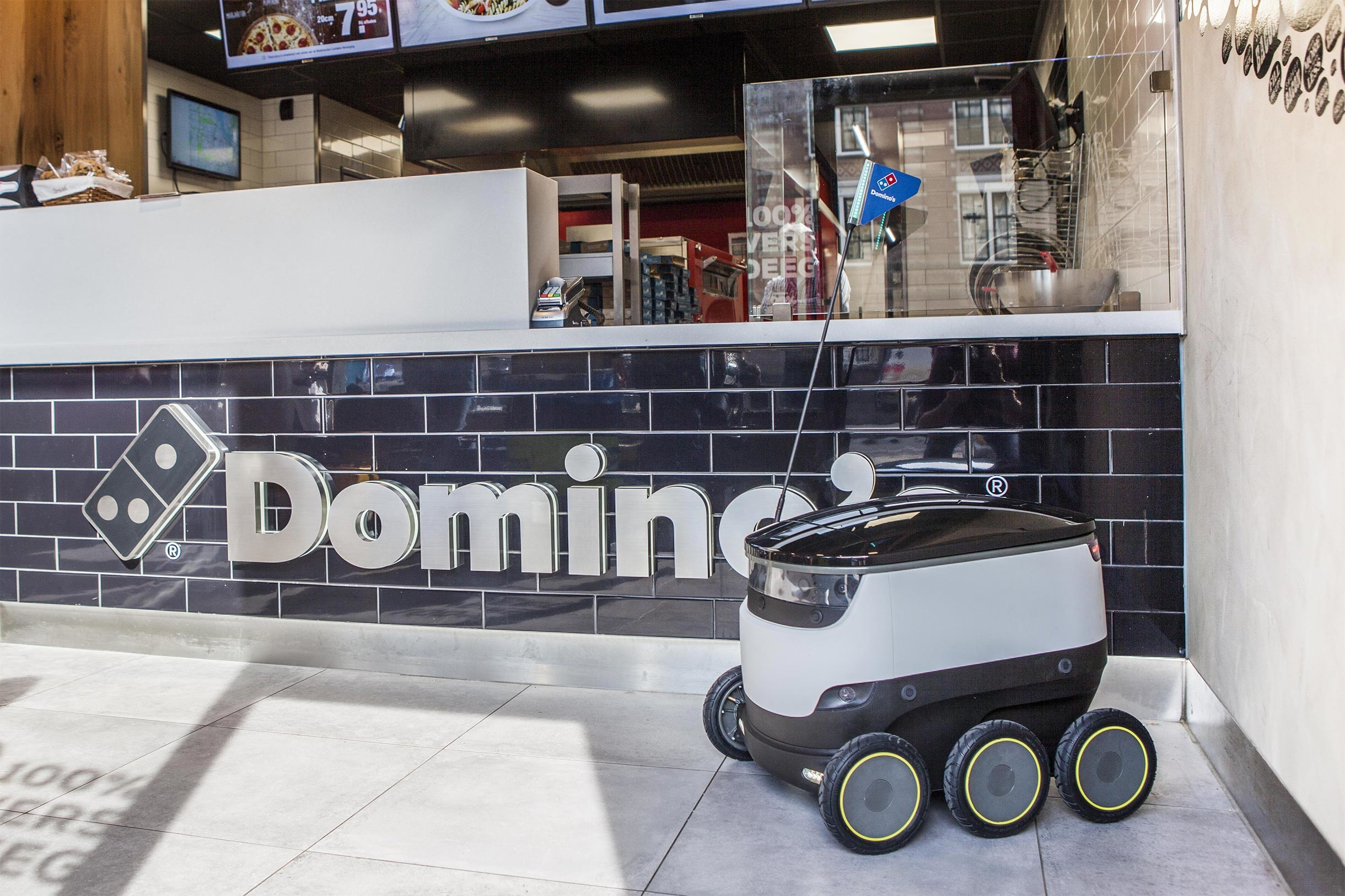 Domino S To Begin Delivering Pizza Using Starship Robots