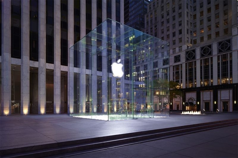 Apple's iconic glass cube on Fifth Ave to temporarily come down