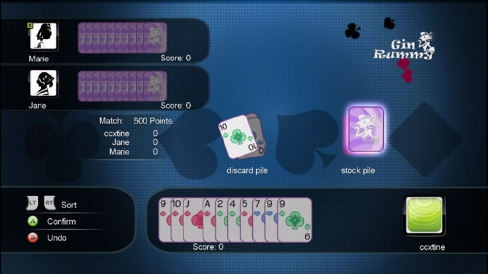 gin rummy plus how to play with friends