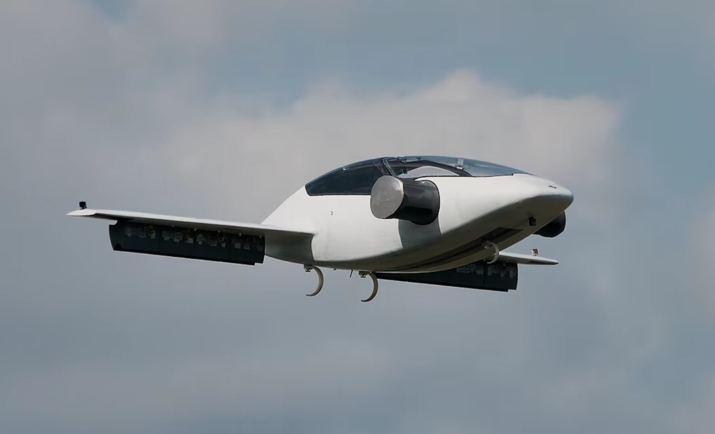 Startup Lilium Runs Successful Tests Of All-Electric Flying Car In Germany