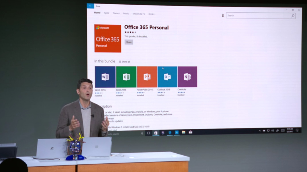 does windows 10 come with office