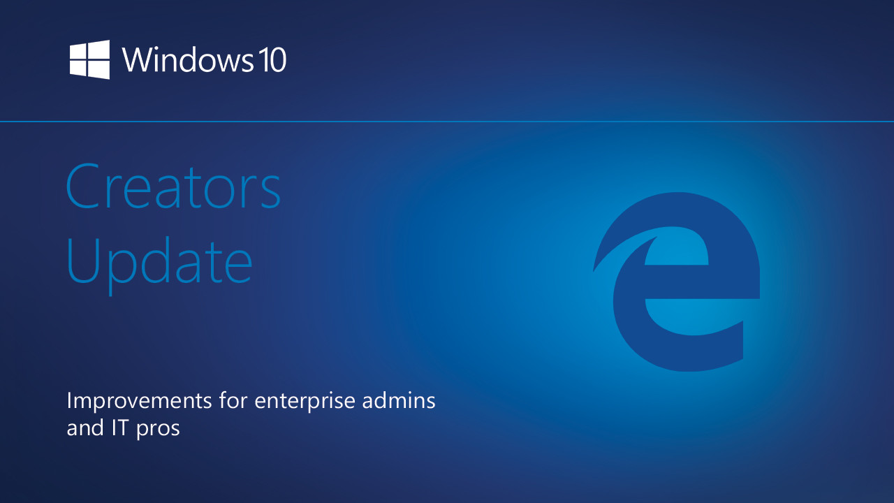 windows 10 enterprise creators update