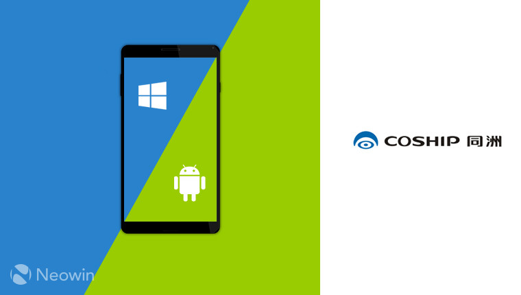 Chinese Coship Manufacturer. Working On A phone With Will booth Android And Windows 10