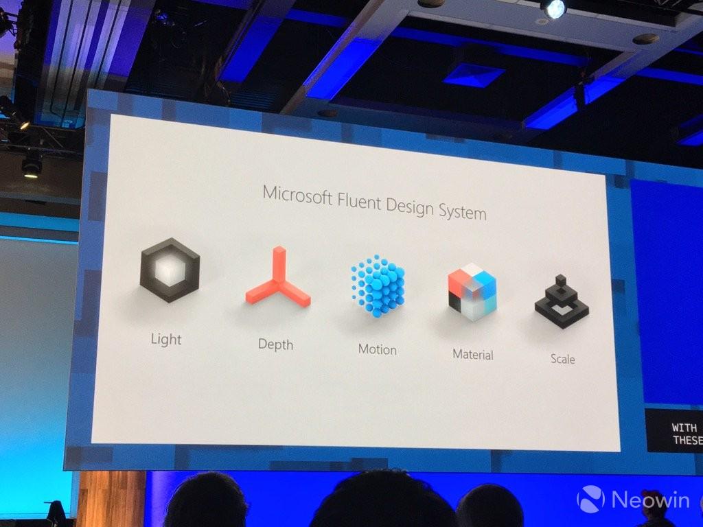 Rezultat slika za microsoft fluent design