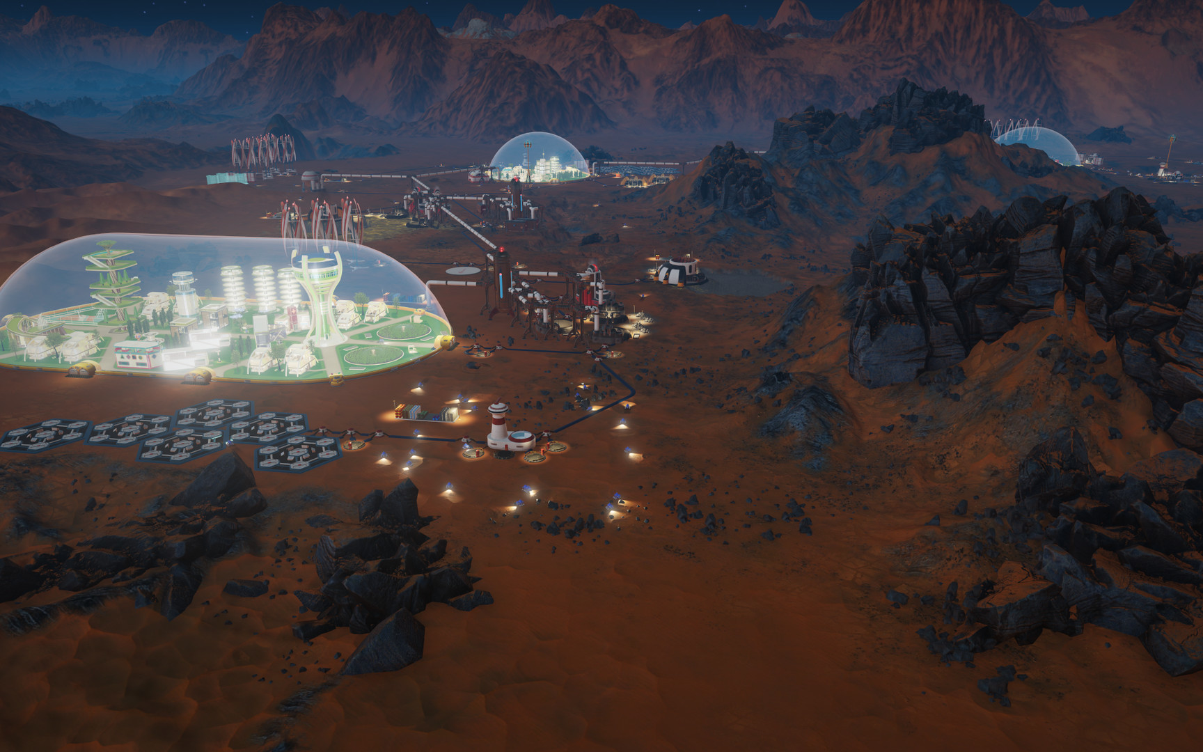 paradox interactive announce city builder game surviving mars for