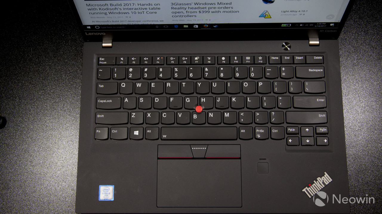 Lenovo ThinkPad X1 Carbon (2017) Ultrabook review: No