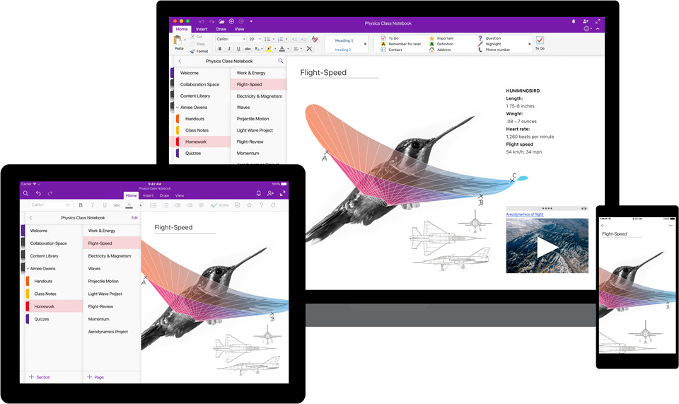 Microsoft announces major redesign for OneNote,