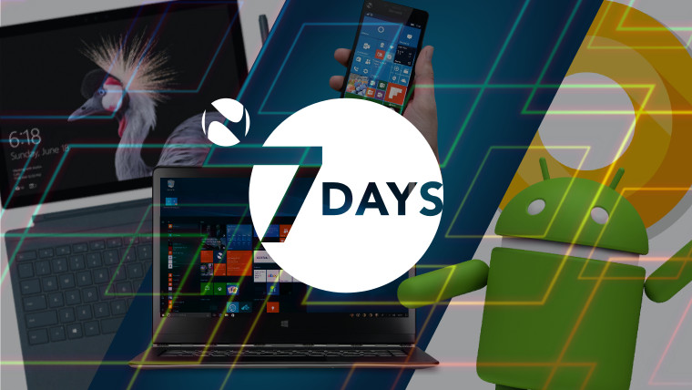 7 Days: A week of Surface Pro pics, Windows 10 updates, and Android