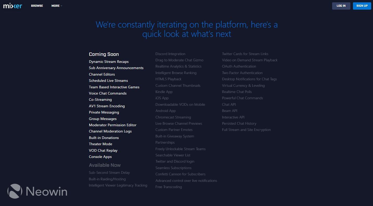 No more Beam: Microsoft's streaming service becomes Mixer