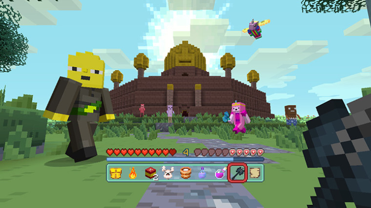 Minecraft Adventure Time Mash-Up Pack is now available for