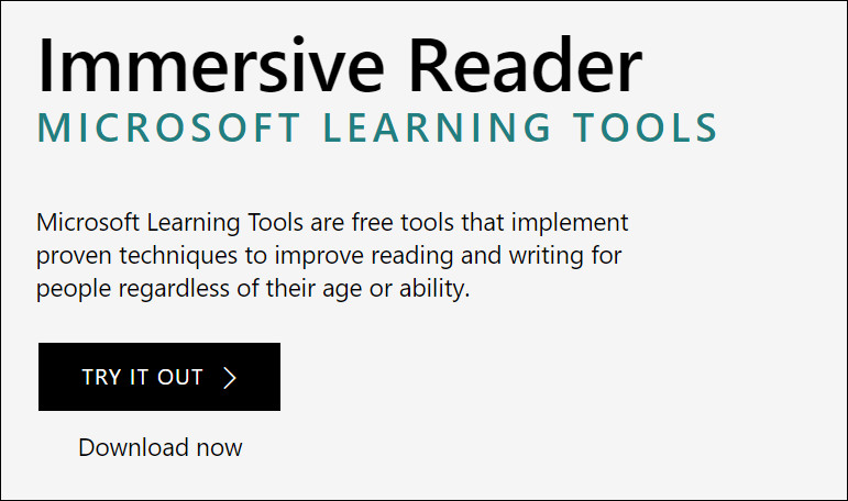 Immersive Reader is now available for Outlook on the web and