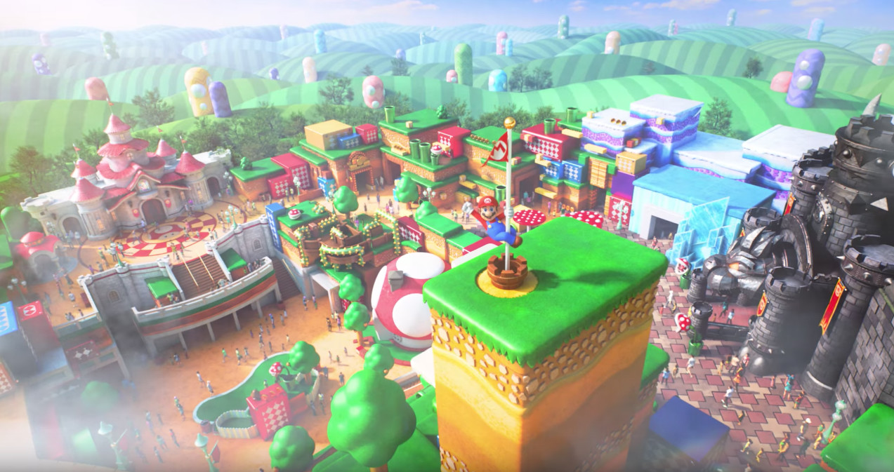 Real-world 'Mario Kart' is headed to Japan's Nintendo theme park