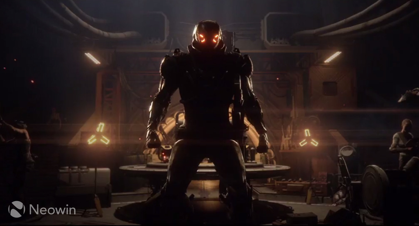 Writer of first two Mass Effect games attached to Anthem