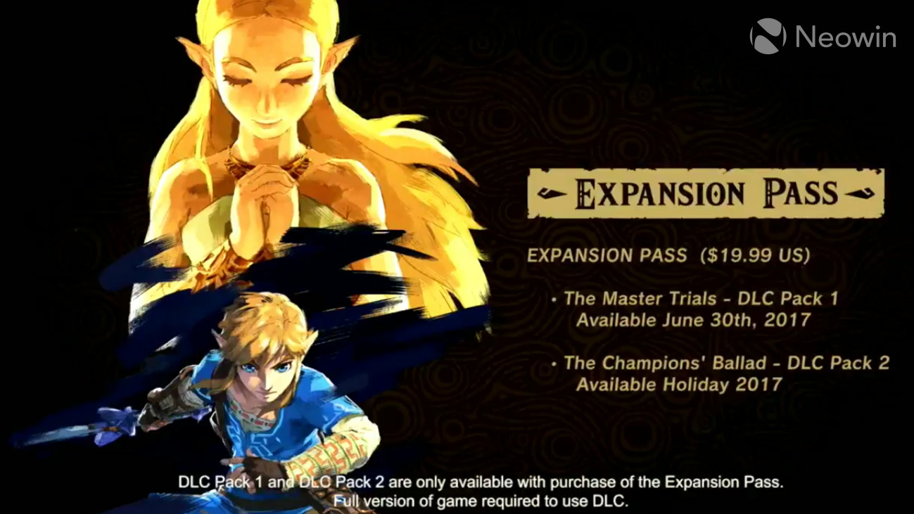E3 2017: Four New Zelda Breath Of The Wild Amiibo Figures Revealed