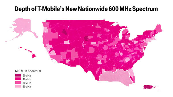Mobile plans to start 600MHz rollout this summer