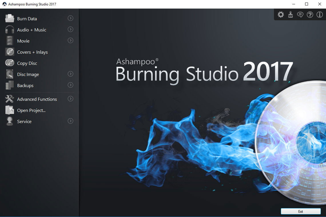 gratuitement ashampoo burning studio 9