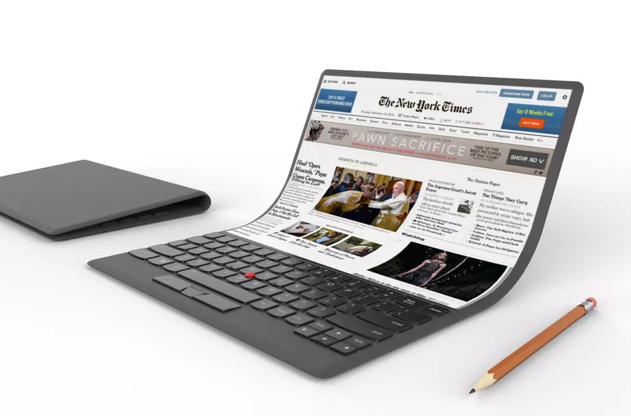 Next Generation Of Lenovo Laptops Might Go Foldable
