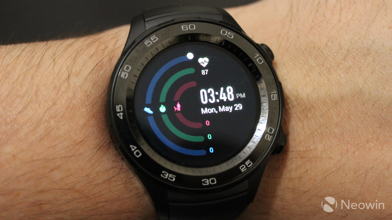 Huawei Watch 2 review: A smartwatch that's big on fitness ...