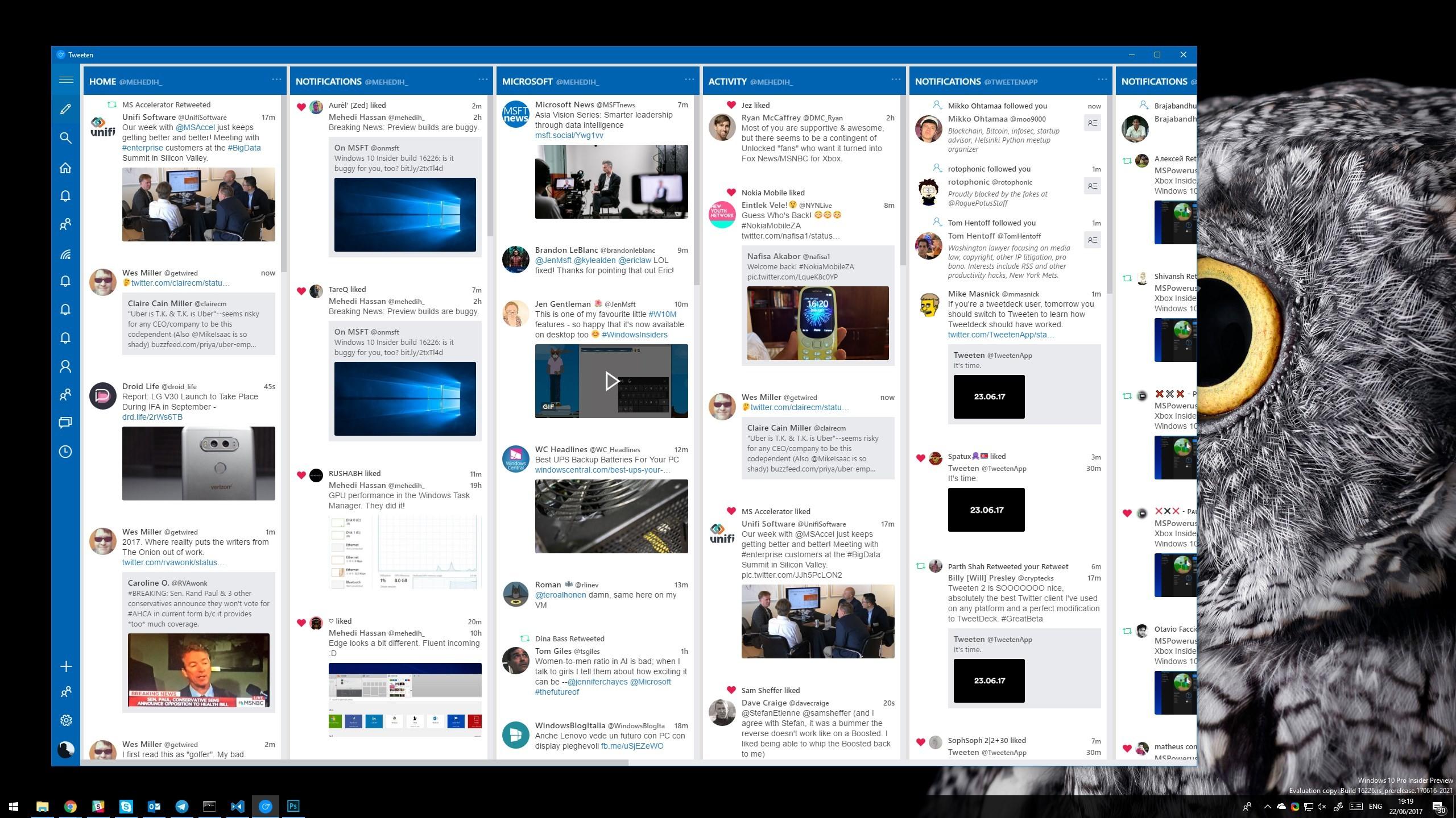 Tweeten gets a new look, emoji picker, and faster