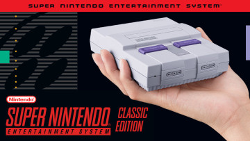 Nintendo announces the Super NES Classic with 21 preloaded games, one of which is unreleased