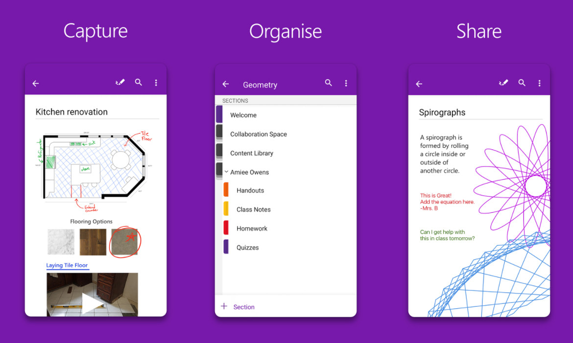 OneNote for Android receives a major update with enhanced