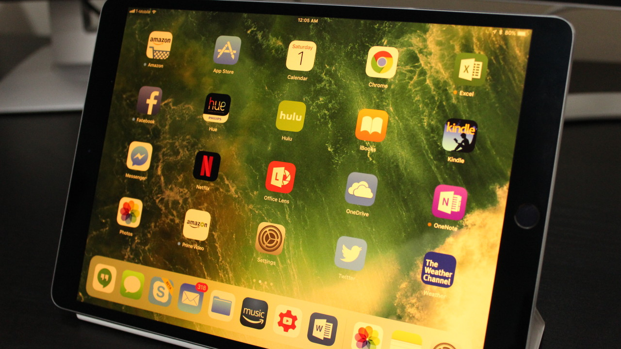105 Inch Ipad Pro Review Apples 2 In 1 Is Starting To Grow Up 512gb New Gold Wifi Only There Are Four Speakers Two On The Top And Bottom This Designed So That Youll Get Quality Audio No Matter How Youre Holding Device