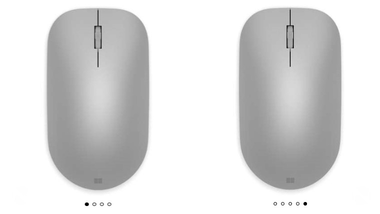 The new Microsoft Arc Mouse and Modern Mouse are now