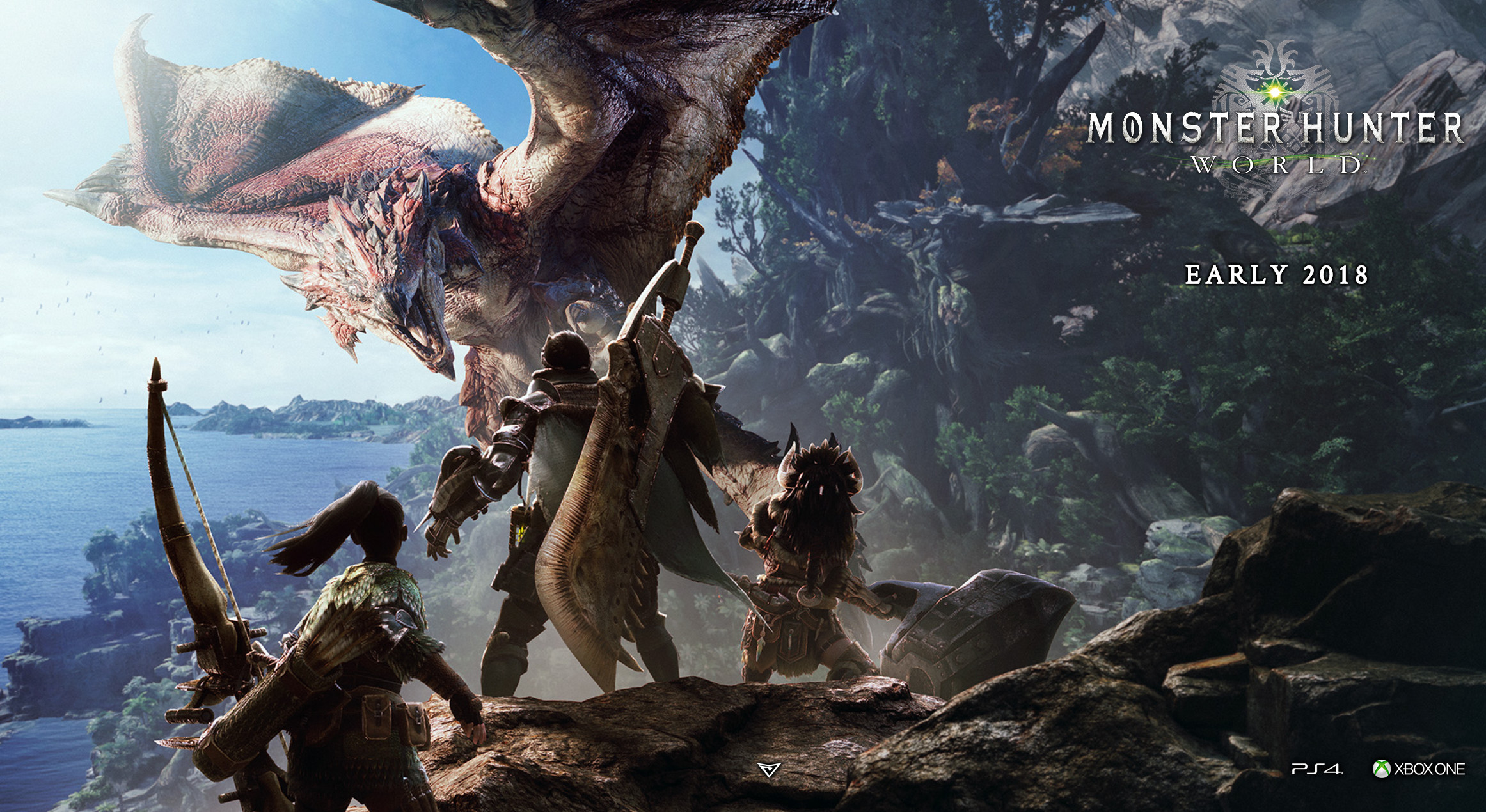 Minutes Of New Monster Hunter World Gameplay Shows More Monsters