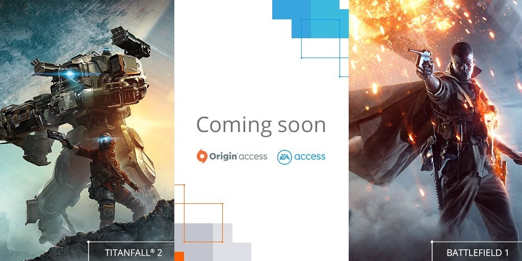 EA are adding Titanfall 2, Battlefield 1 and more to EA/Origin Access
