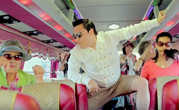 Gangnam Style no longer YouTube's most-watched video