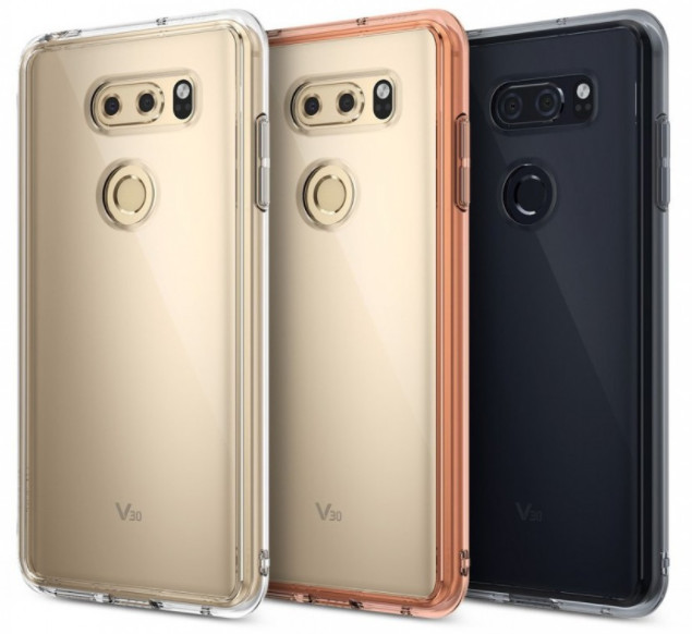 Smartphone case maker purportedly reveals the upcoming LG V30 smartphone