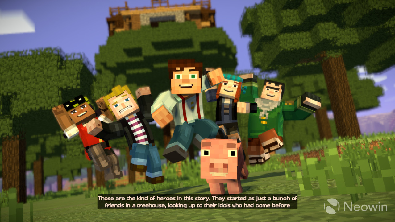 Download Game Minecraft Story Mode Season Two Episode 1 PC