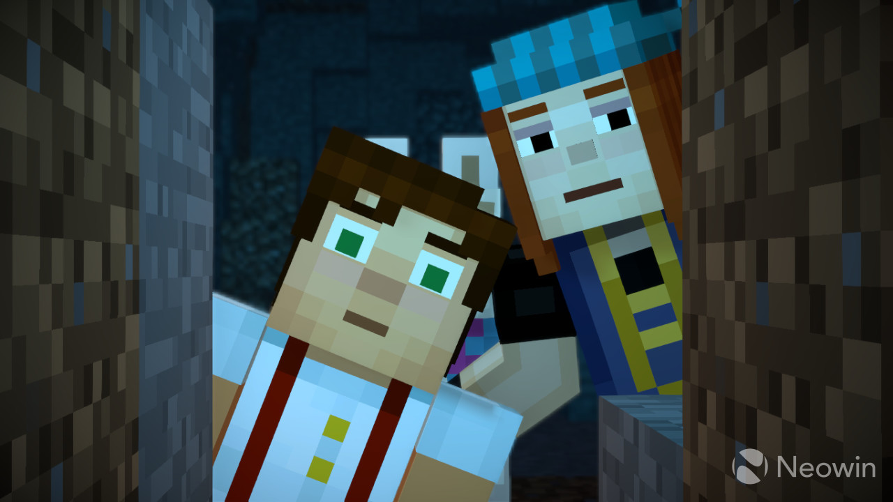 Minecraft: Story Mode Season Two, Episode One Kicks Off Almost Immediately  After The Events Of The First Season (which You Can Import By Signing In To  Your ...