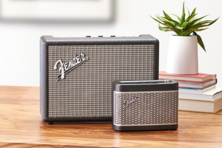 Fender's new Bluetooth speakers look just like mini guitar amps