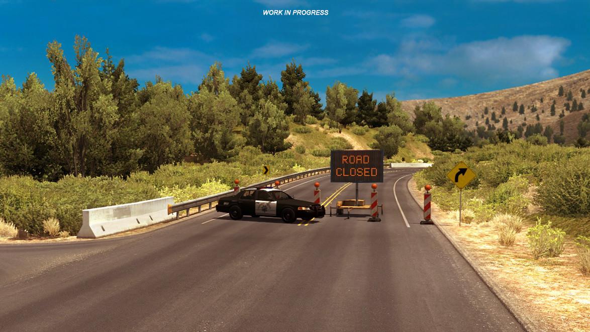 American Truck Simulator developer shuts down in-game road mirroring