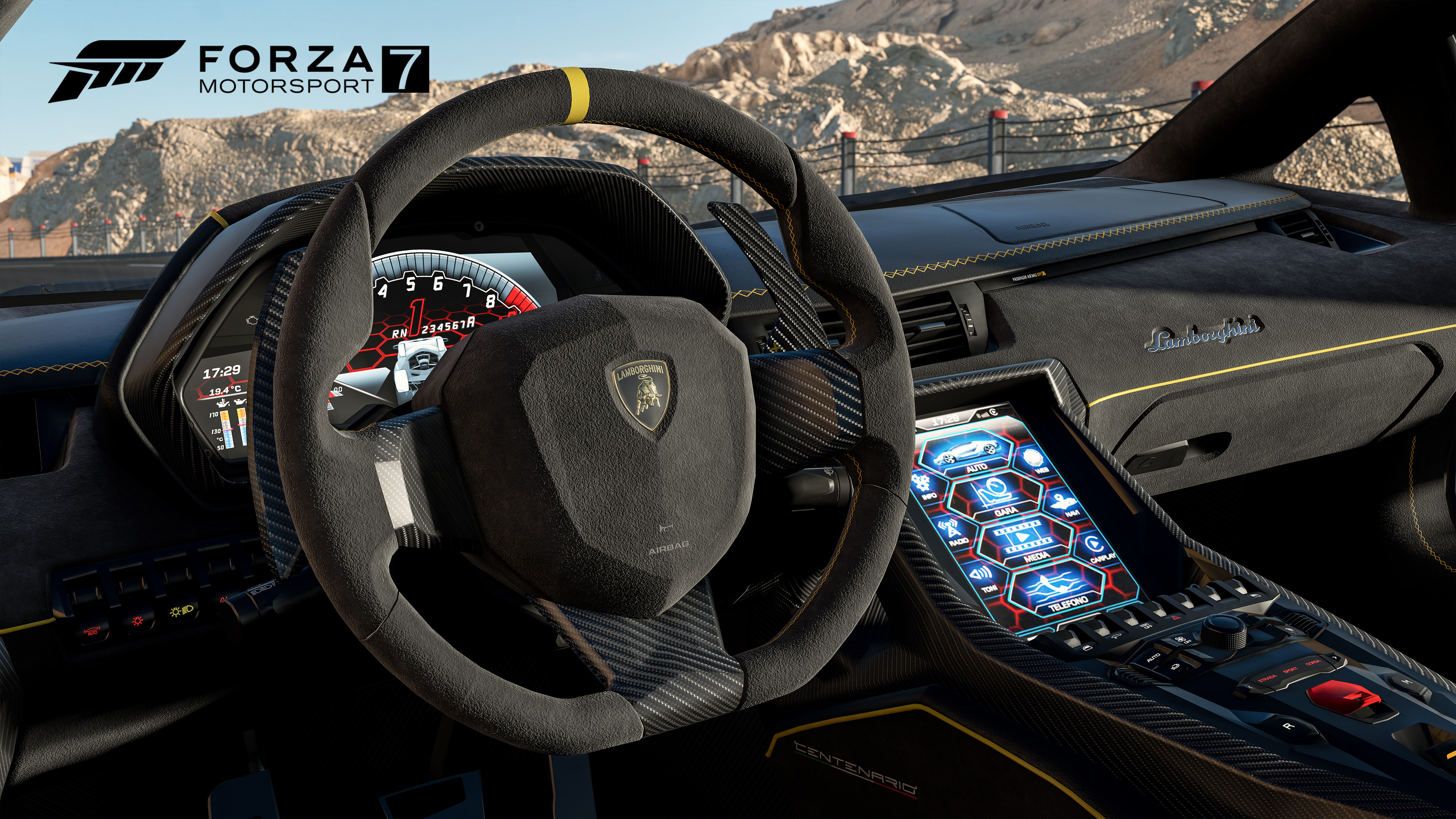 On Their Website Showing The Interior Of Lamborghini Centenario Which Featured As Cover Car For Last Years Blockbuster Hit Forza Horizon 3