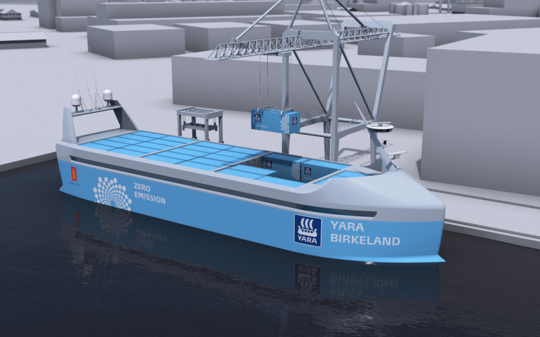 Norway to launch $25 million autonomous ship in 2018