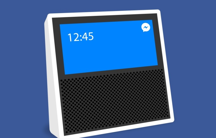 Facebook reportedly building smart speaker with touch screen