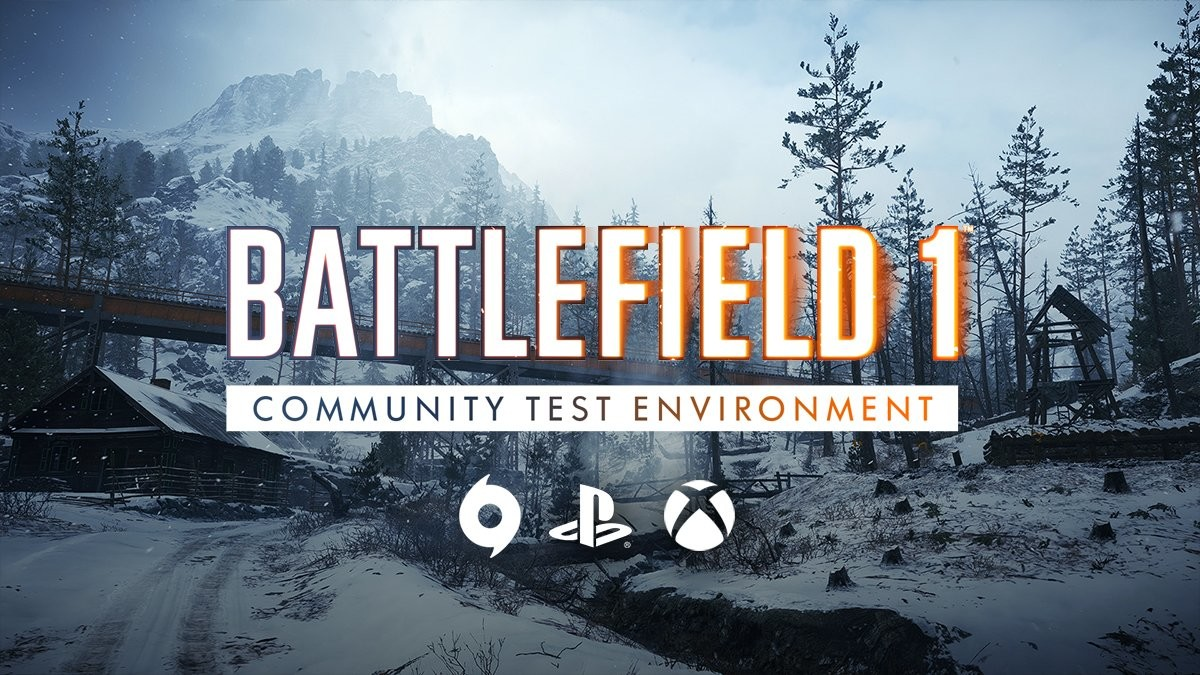 Battlefield 1 Community Test Environment (CTE) Is Heading To Consoles