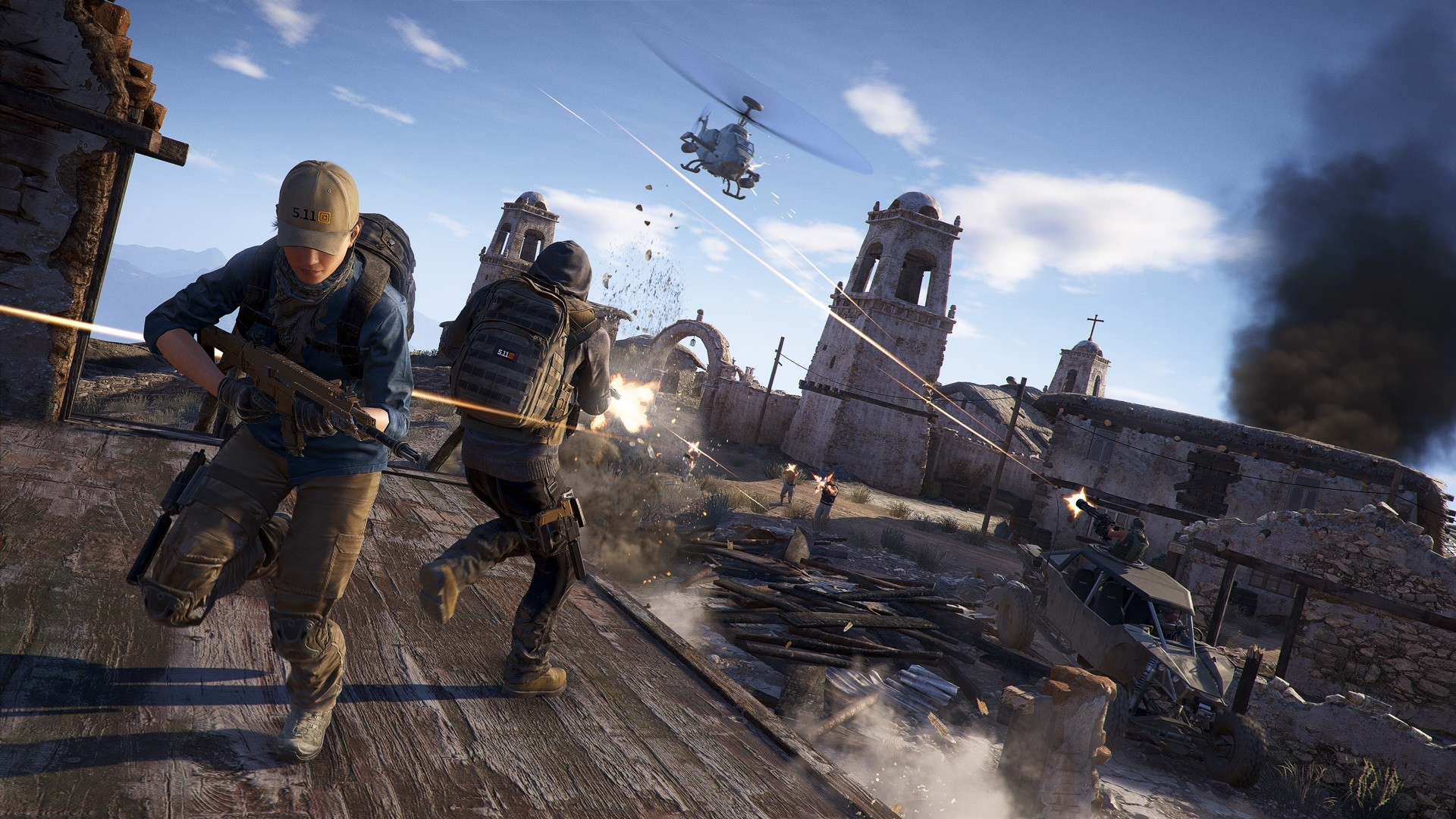 Ubisoft Launches a Ghost Recon: Wildlands Demo on PS4 and Xbox One