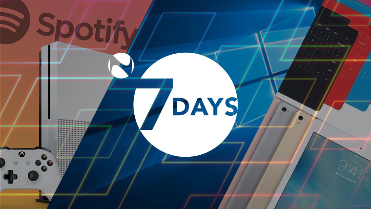 7 Days: A week of Spotify Xcitement, Windows 10 Eye Control and
