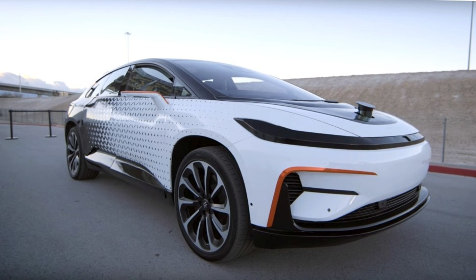 Electric vehicle maker Faraday Future abandons Nevada plant for California