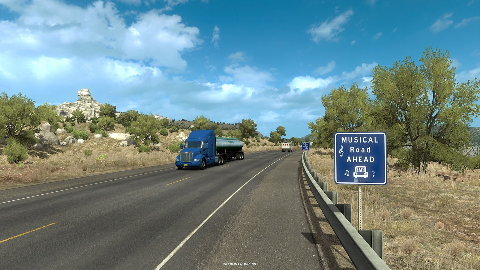 this road in american truck simulator will play music when. Black Bedroom Furniture Sets. Home Design Ideas