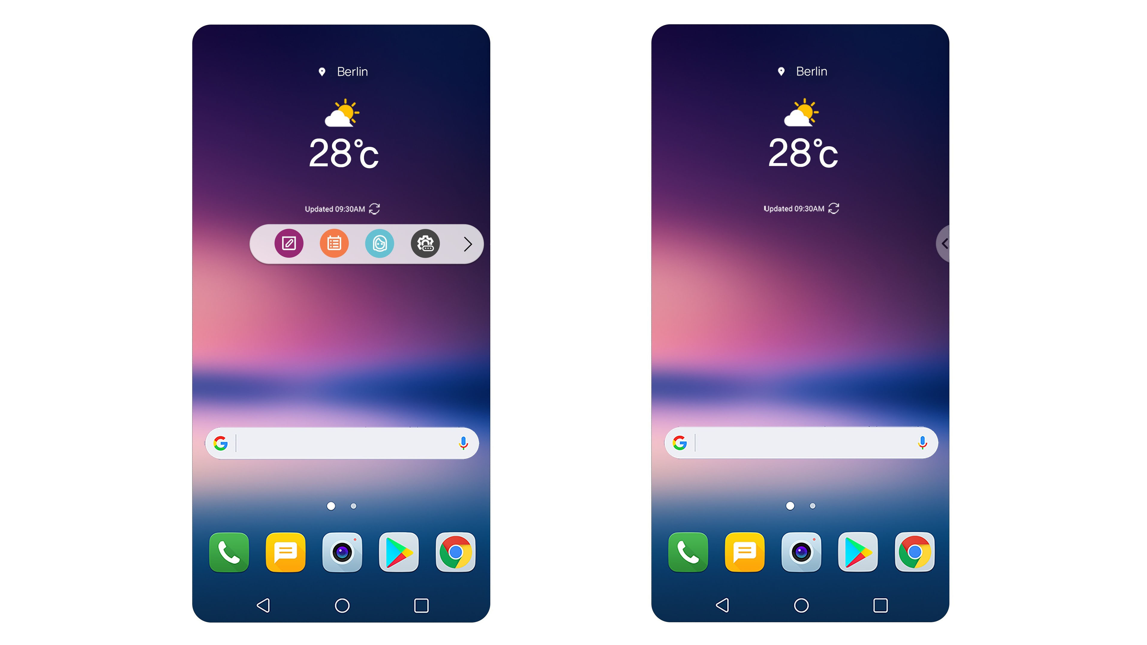 LG V30 Floating Bar, Unlock Features Teased