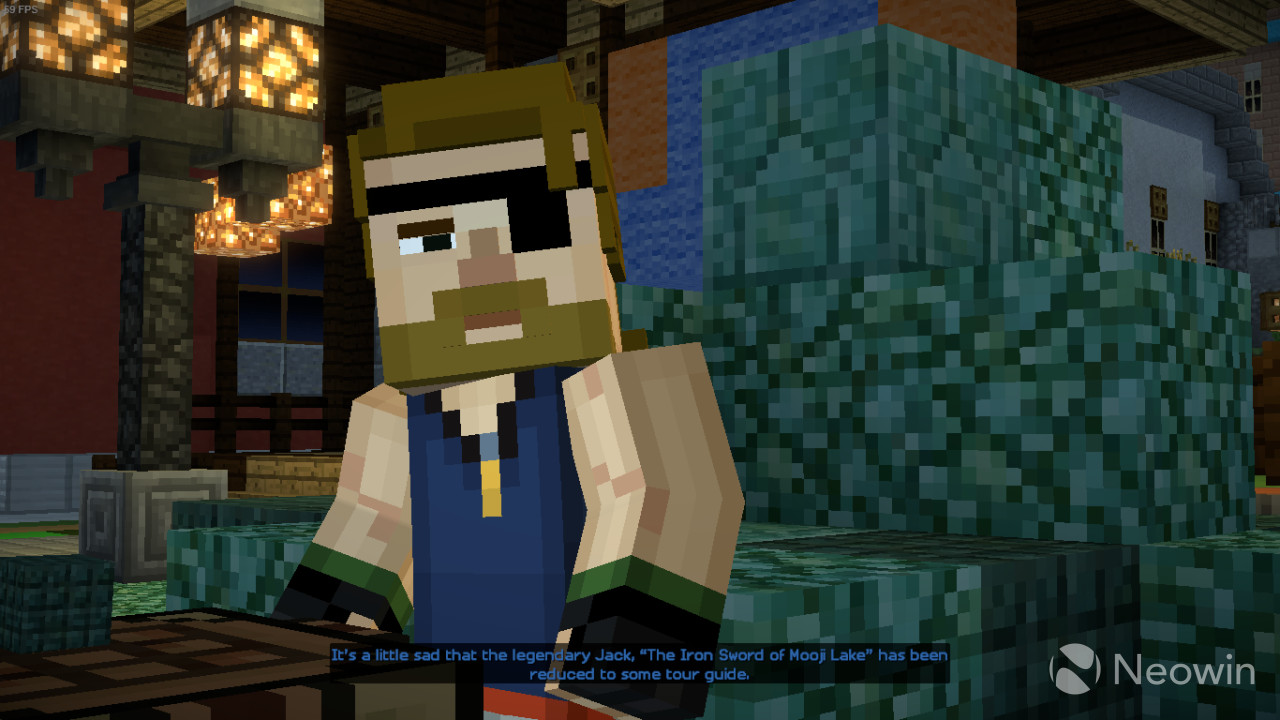 Minecraft story mode season two episode two review an amazing after playing a two hour premier episode of the same series and a two and a half hour episode of batman it was very sudden seeing giant consequences end fandeluxe Choice Image