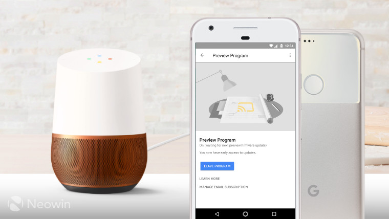 Google Home starts rolling out voice calling