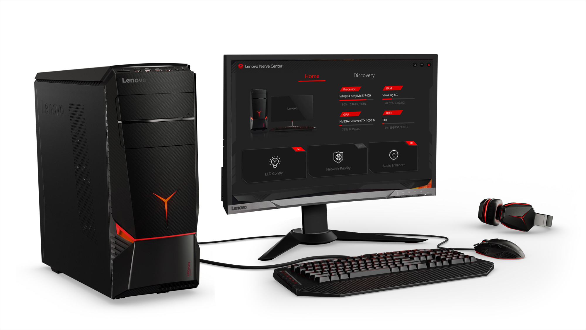 New Legion Gaming Towers From Lenovo Are VR-Ready