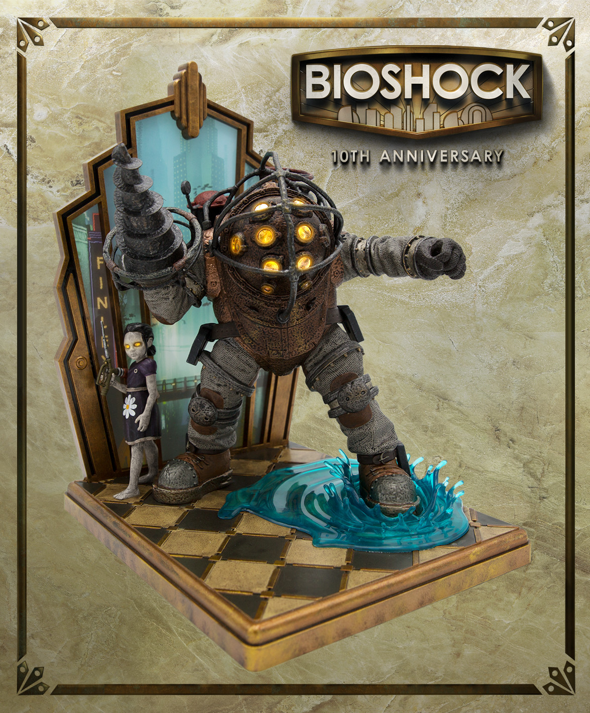 2K unveils BioShock 10th Anniversary Collector's Edition, includes a Big Daddy statue