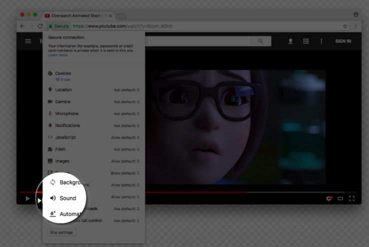 Google Chrome Will Let You Permanently Mute Auto-Playing Videos On Websites